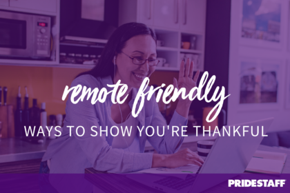 giving thanks remote employees