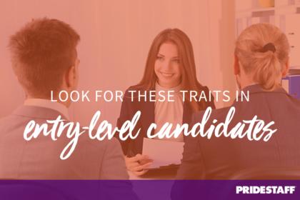 entry-level candidates